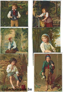 Chromo Trade Card 0039 (Enfants - grand format)