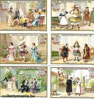 Chromo Trade Card 0663 (Comédies d'auteurs français)