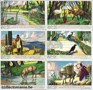 Chromo Trade Card 1262 Fables d'Esope
