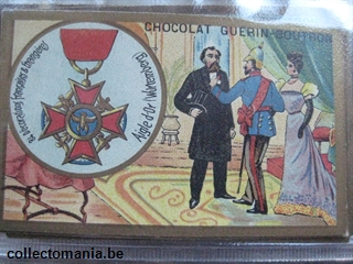 Chromo Trade Card CH GB MEDAILLES