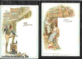 Chromo Trade Card M46 Scenes from Dickens' Novels