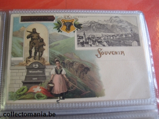 Chromo Trade Card suchard postcards